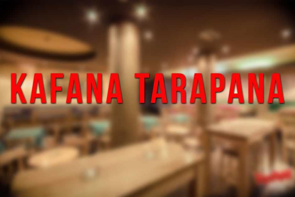 Kafana Tarapana Doček Nove godine