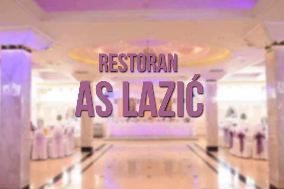 Restoran AS Lazić Nova godina 2017