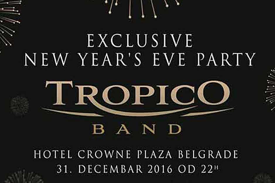 Hotel Crowne Plaza Nova godina 2017