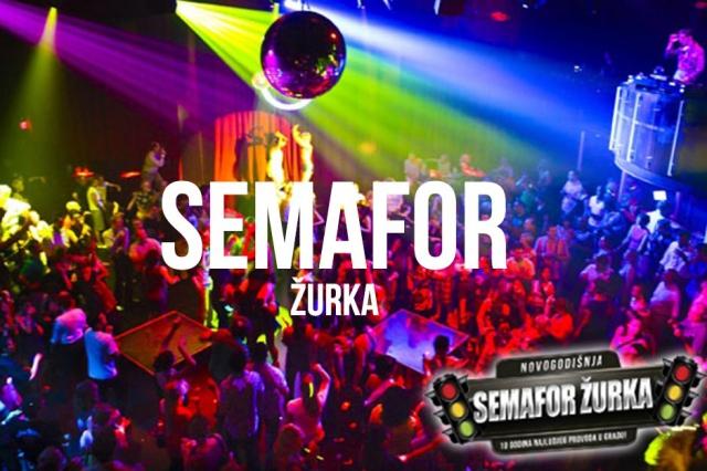 Semafor Žurka - Doček 2016.