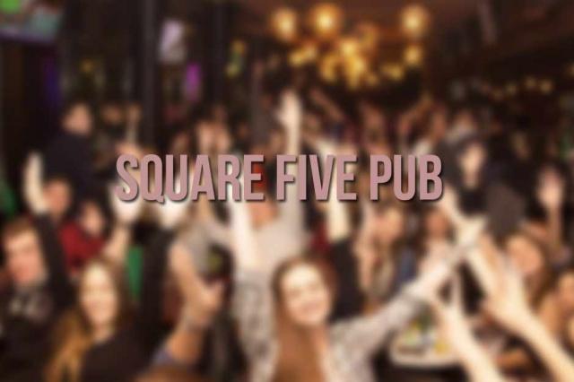 Square Five Pub Doček Nove godine