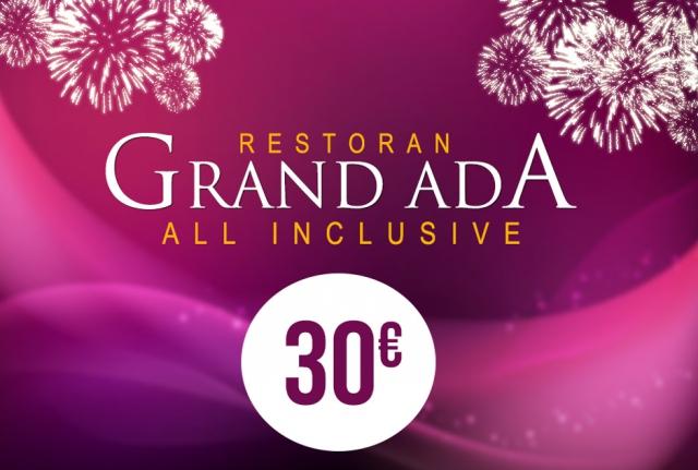Restoran Grand Ada Nova godina 2017